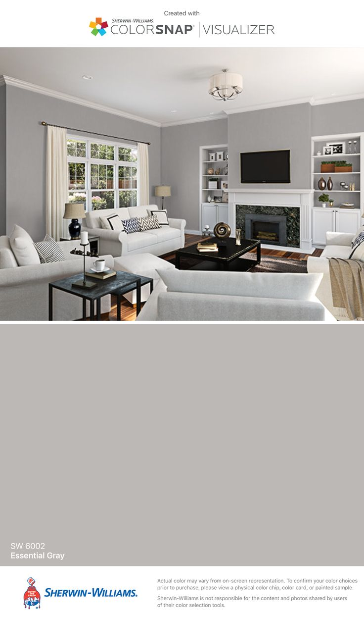 I found this color with ColorSnap  Visualizer for iPhone by Sherwin Williams   Essential. 17 Best ideas about Sherwin Williams Gray on Pinterest   Gray