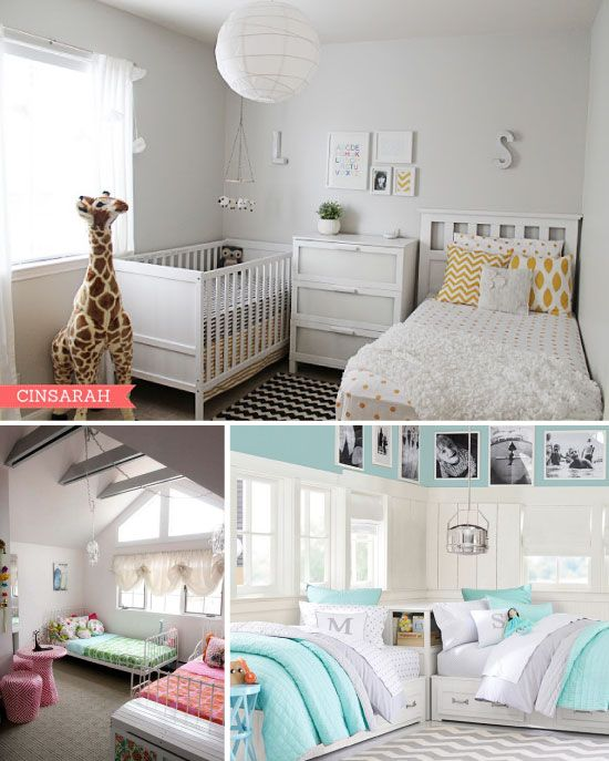 Partager Une Chambre Du0027enfant : Les Lits Jumeaux | Deco Ideas | Toddler  Rooms, Kids Bedroom Et Girls Bedroom