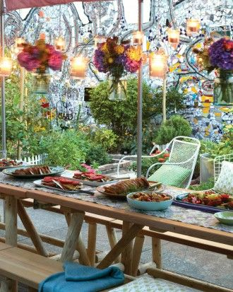 """See the """"Community Garden Potluck Party"""" in our  gallery"""