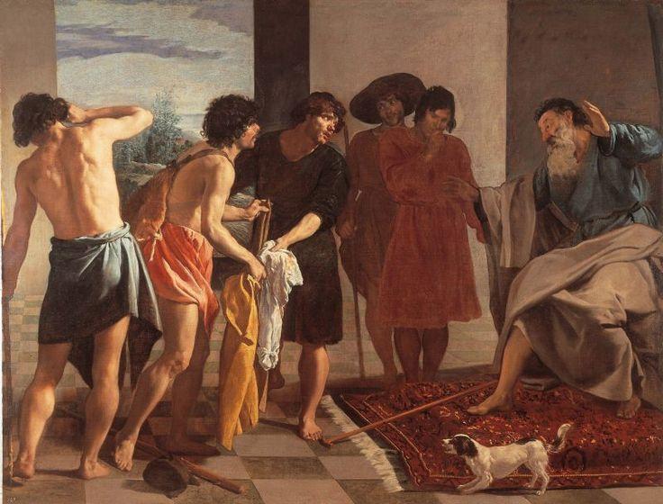 Диего Веласкес. Принесение Иакову одежды Иосифа