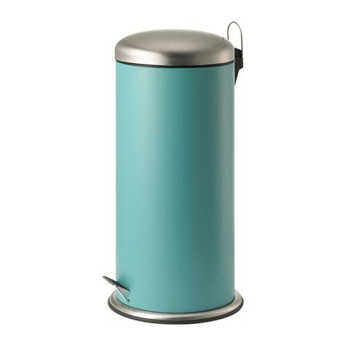 IKEA - MJÖSA, Pedaalemmer, De pedaalemmer is door de handgreep aan de achterkant makkelijk te verplaatsen.De binnenemmer is uitneembaar, dus makkelijk te legen en te reinigen.Deze pedaalemmer kan overal in huis worden gebruikt, ook in vochtige ruimtes zoals de keuken en de badkamer.