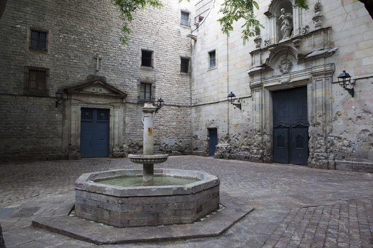 Plaza de Sant Felip Neri, Barrio Gotico, Barcelona