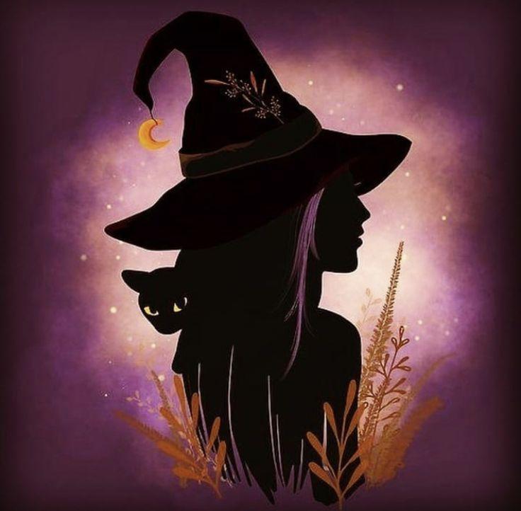 картинки арт ведьмочки волосы быстро бывает
