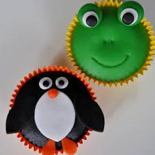 Image result for kikker cupcakes