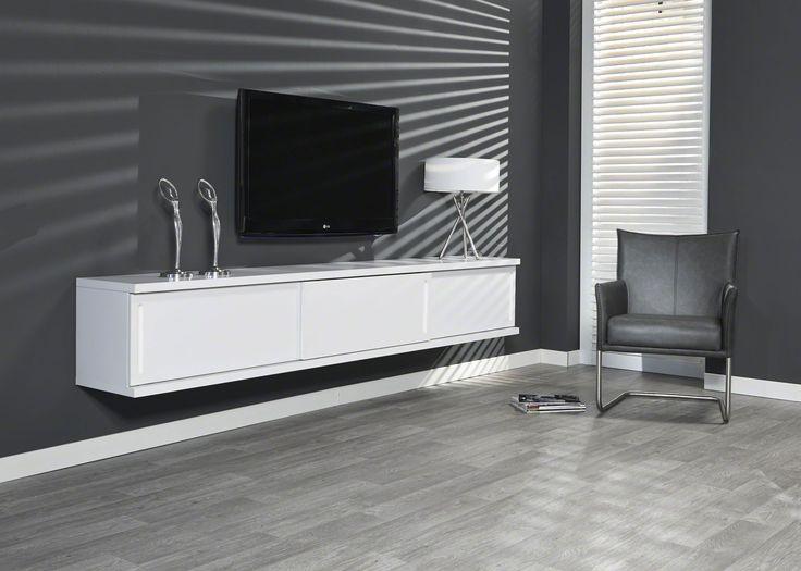die besten 25 lowboard wei matt ideen auf pinterest tv. Black Bedroom Furniture Sets. Home Design Ideas