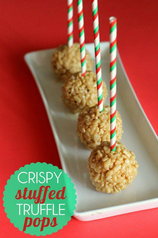 Crispy Stuffed Truffle Pops. These are easy and yummy! { lilluna.com }