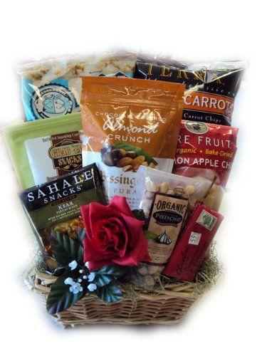 Men's Healthy Valentine's Day Gift Basket