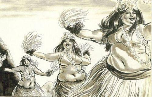 Fat Hula Dancers 81