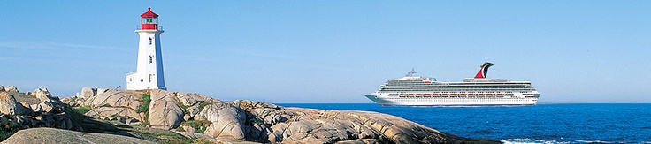 Carnival Cruise, New England, St. John's NB - Great new cruises to Eastern Canada