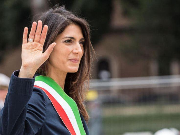Il sindaco Virginia Raggi  rinuncia della candidatura di Roma alle Olimpiadi 2024