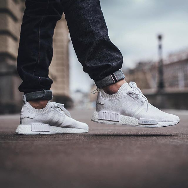 bc3d2bac4c0e ... triple white white 87f03 4710d real hypefeet following the unveiling of  a blacked out adidasoriginals nmd now imagem do adidas nmd ...
