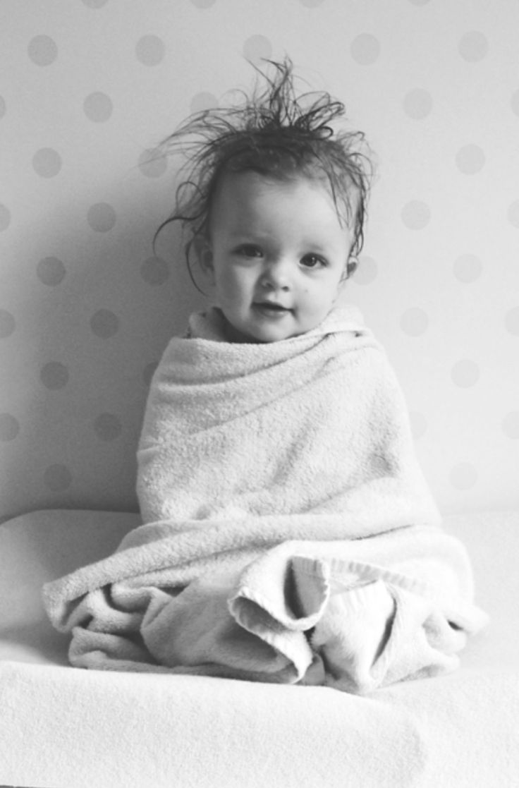 Love it when babies first get out of the bath, all fluffy wrapped up in a towel and smell so sweet!