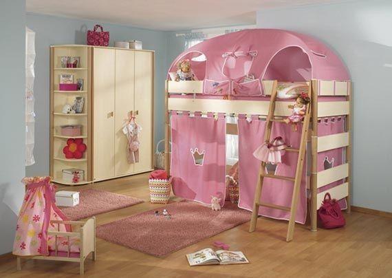 Úžasné postele pro děti - na hraní i na spaní