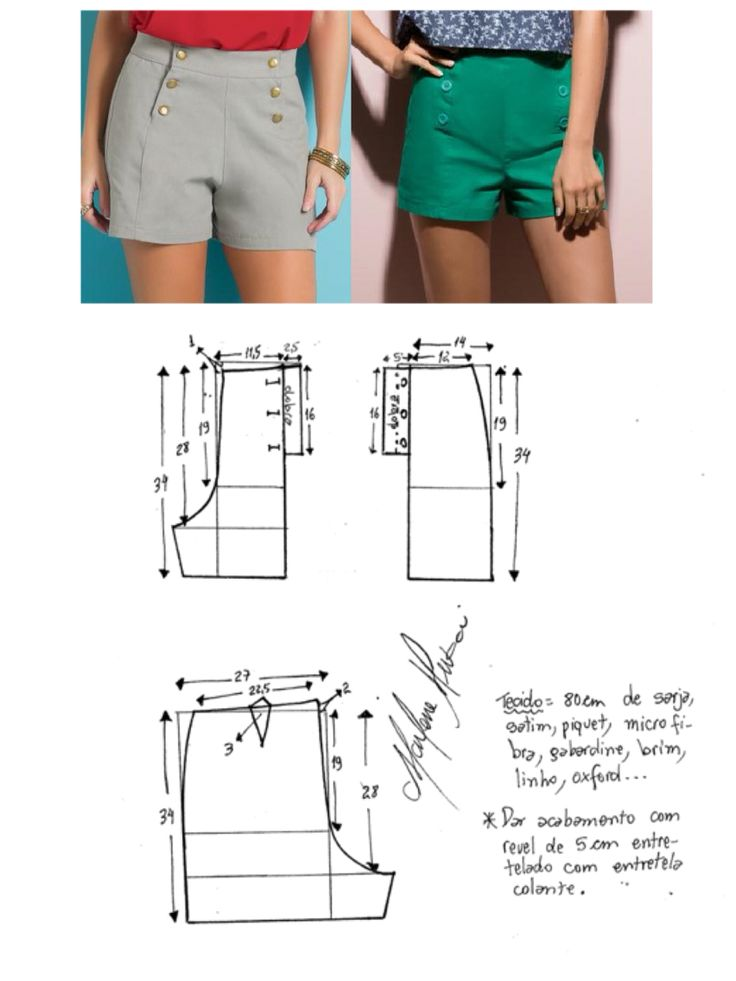 Hotpants pattern