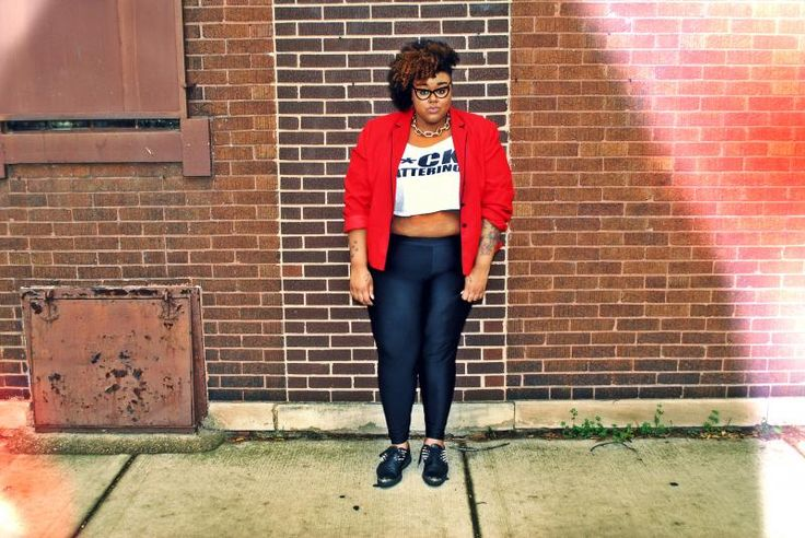 This Lady And Her Risk Taking Style Inspire Me Curvy Plus Fat Plump Pleasant Girl Fashion