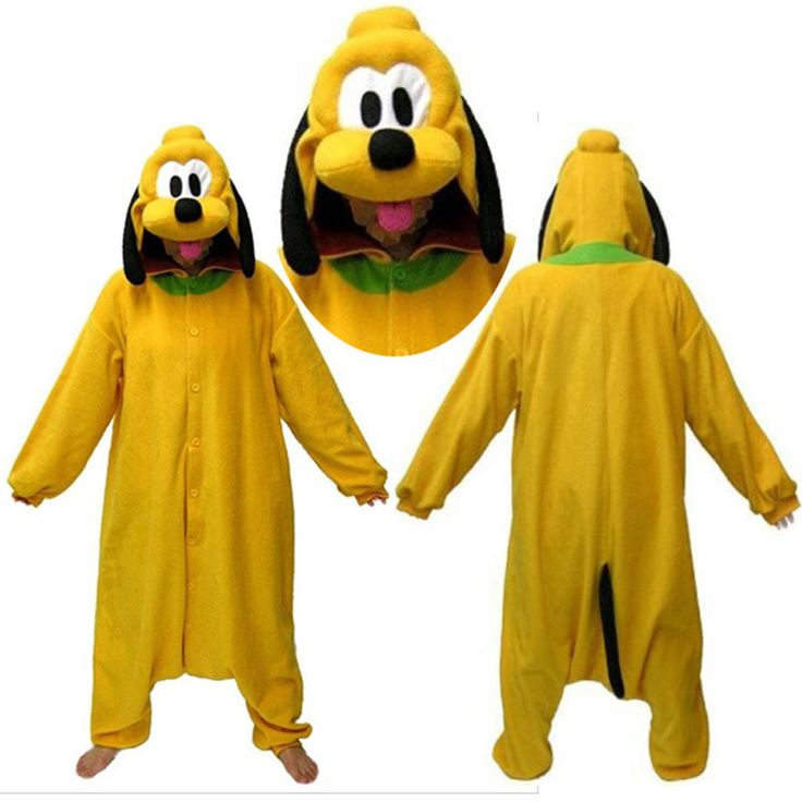Animal Adult Pluto Dog Onesies kigurumi Hoodie Pajamas Pyjama