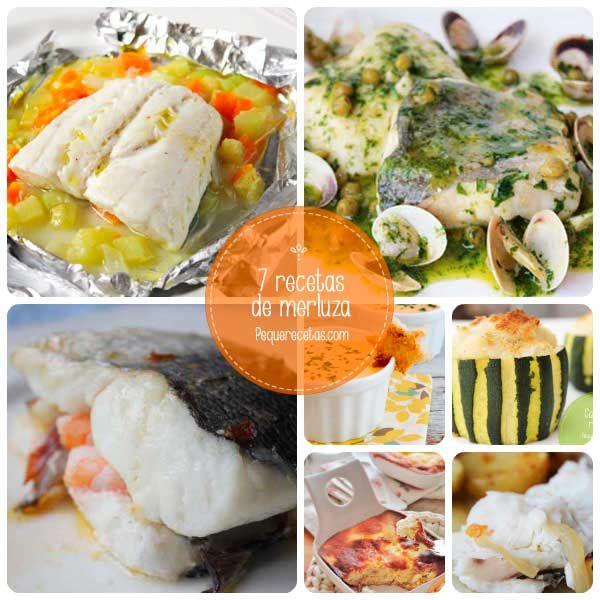 7 recetas de merluza para toda la familia