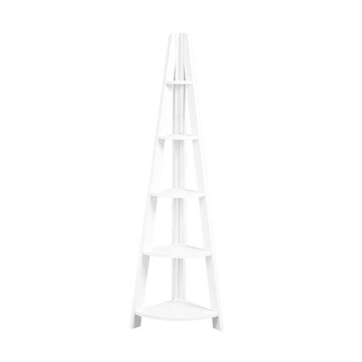 LPD Tiva Ladder White Corner Display Unit
