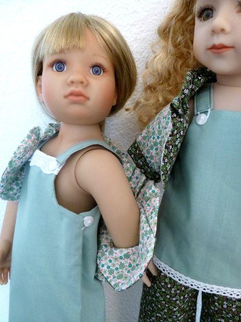 CATWALK : détail emmanchure et haut robe patterns here // patrons ici : www.dollfamily.fait-maison.com
