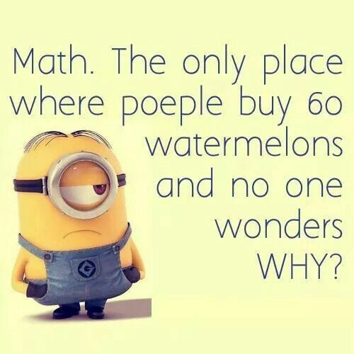 Math Quotes Funny Minion: 17 Best Images About Minions On Pinterest
