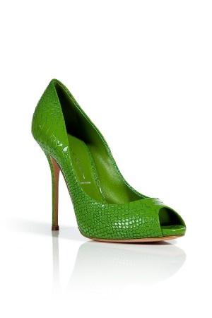 Neon High Heels von Casadei gesehen bei Stylebop