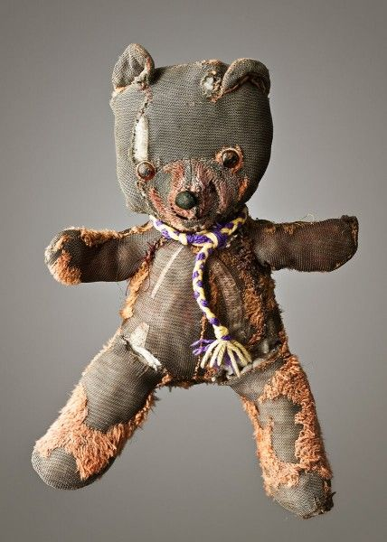Mark Nixon, a photo series of 'much loved' teddy bears (click through to see the entire collection).