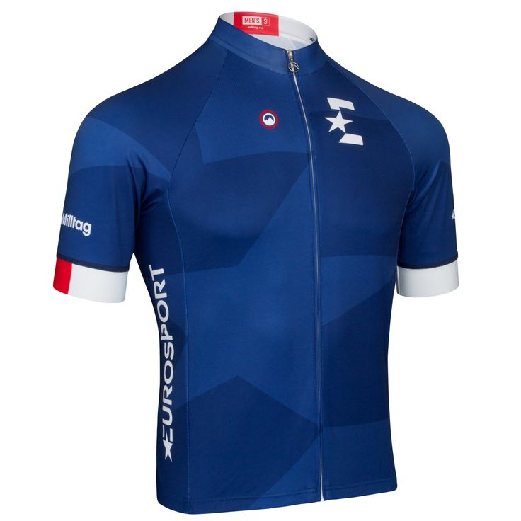 Eurosport Jersey - Short Sleeve Cycling Jersey by Milltag