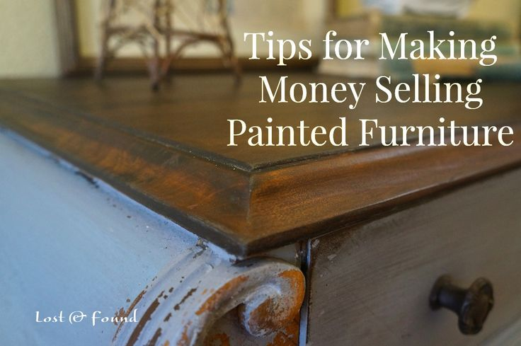 If you are thinking of making money painting furniture I have a few tips to share on how to maximize the money that winds up in your pocket.