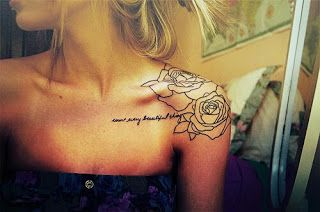 sext front shoulder tatoo | Back Shoulder Tattoos ~ Women Fashion And Lifestyles