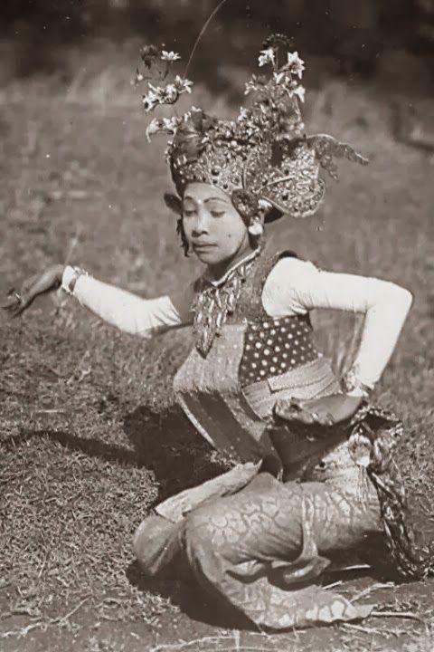 Legong Dancer ~ Bali ~ Indonesia ~ 1920s