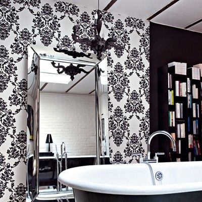 best 25 papier peint contemporain ideas on pinterest. Black Bedroom Furniture Sets. Home Design Ideas