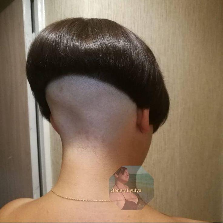 #hairdare #bob #undercut #shavednape #bobhaircut #