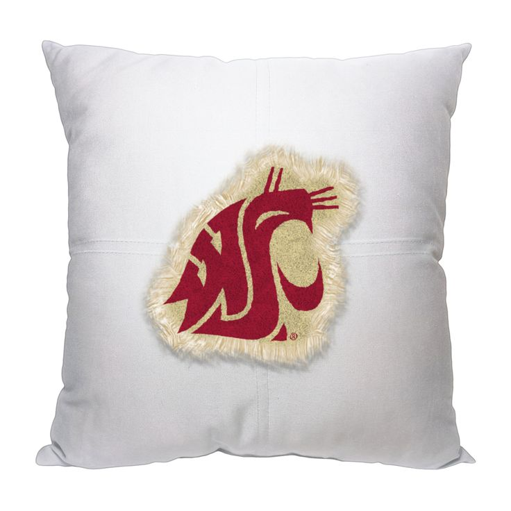 "Washington State College 18""""x18"""" Letterman Pillow"