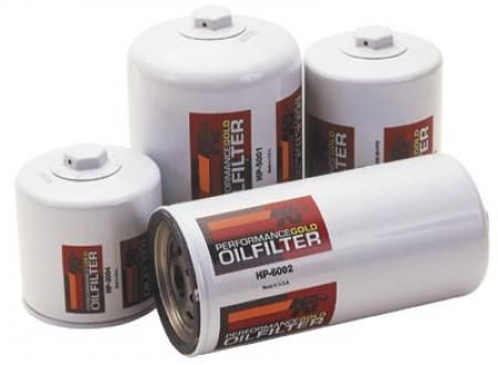 K Performance Gold Oil Filters