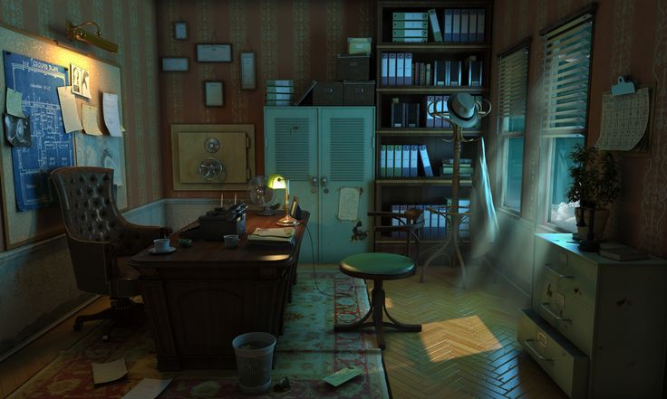Detectives office 2014 horosavin for Escape room concept
