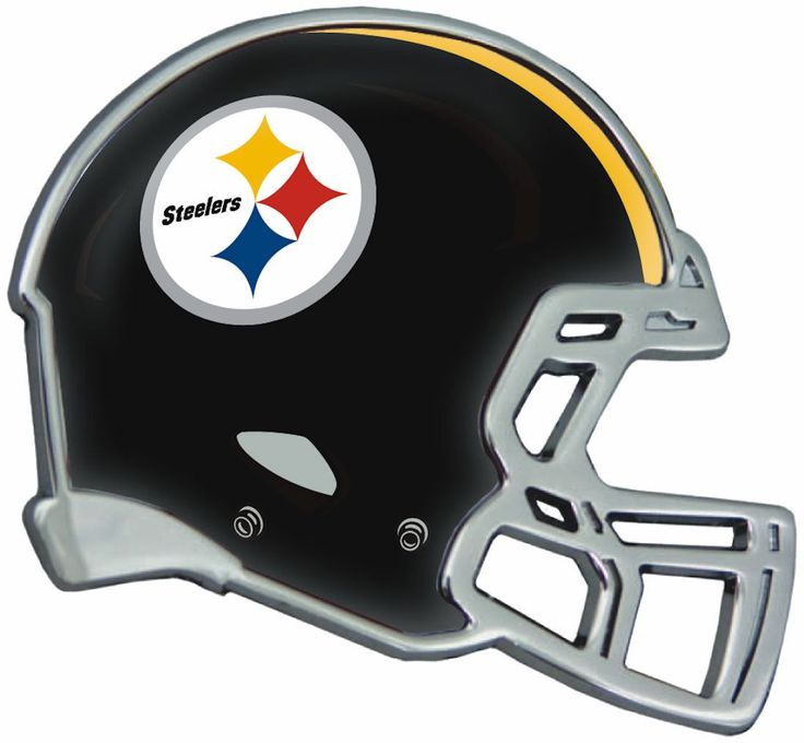 Pittsburgh Steelers Helmet Auto Emblem