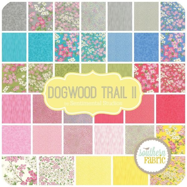 """Dogwood Trail II - Charm Pack (5"""") (33030PP) by Sentimental Studios for Moda 