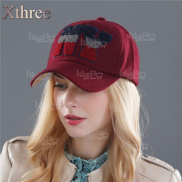 XTHREE Marka Unisex Yüksek Kaliteli Beyzbol Şapka Modelleri- IGD080608750