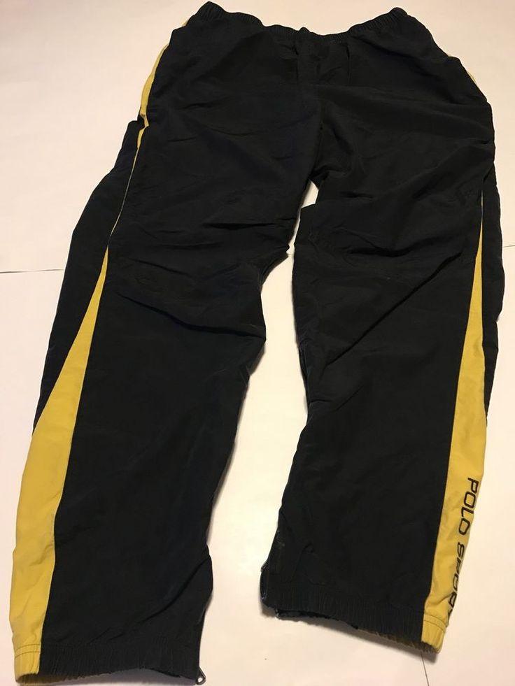 vtg ralph lauren polo sport Track Pants L  | eBay