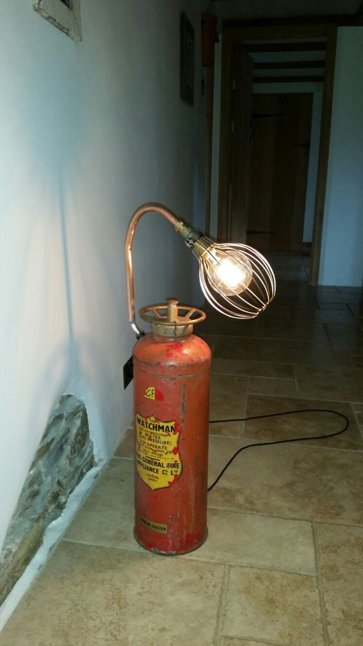 New from Old Extinguisher Light