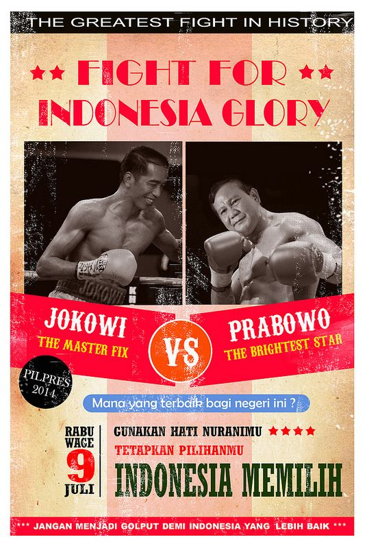 JOKOWI VS PRABOWO FOR INDONESIA GLORY