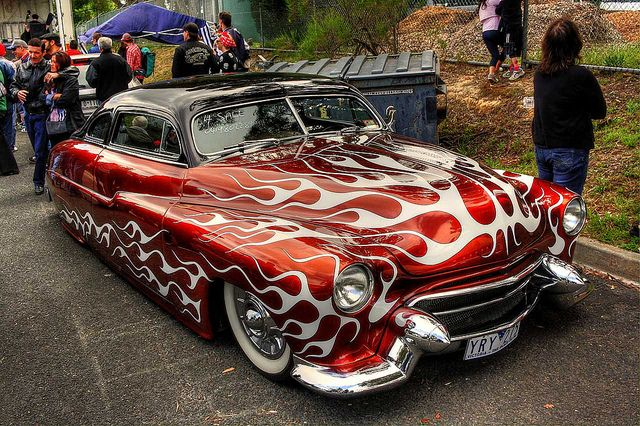Lead Sled | lead sled another cool lowered car this time a 1950 mercury lead sled ...