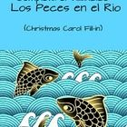 Los Peces en el Rio: fun activity for students to listen to a Spanish Christmas carol and fill in the missing lyrics. $