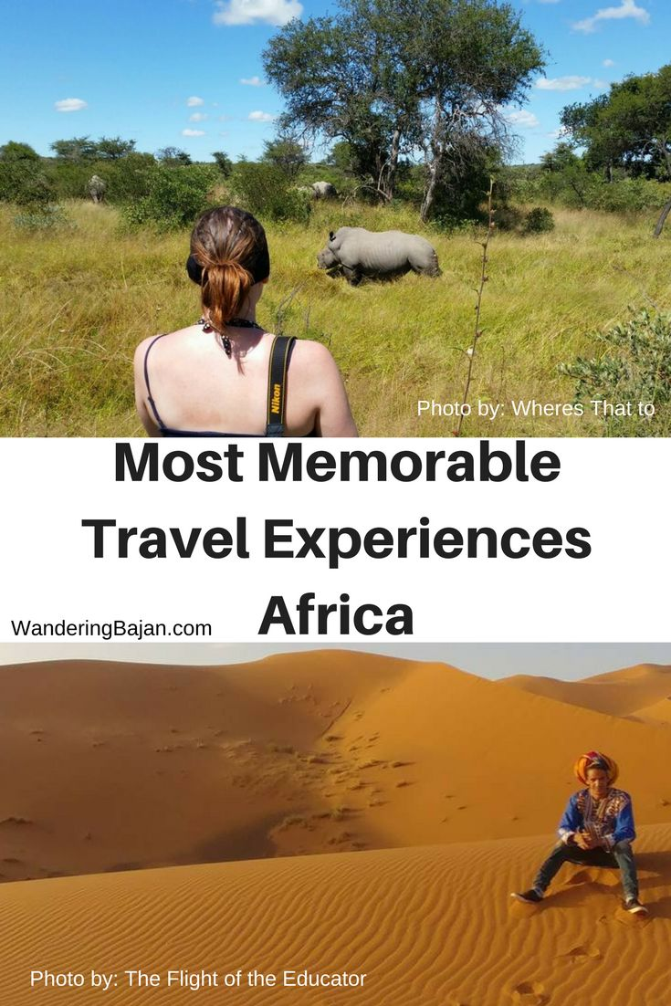 Travel bloggers share their most memorable travel experiences in Africa