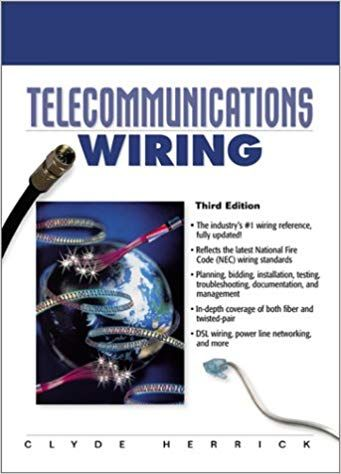 20c6f115cbc1f8db164878768fd992ee telecommunications wiring (3rd edition) this new edition features
