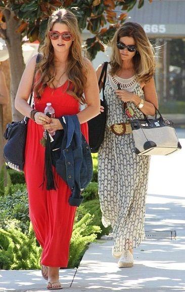 Katherine and Maria Shriver #GotItFromMyMama
