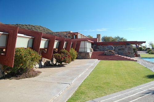 Taliesin West. Scottsdale, Arizona. Frank Lloyd Wright.1937.