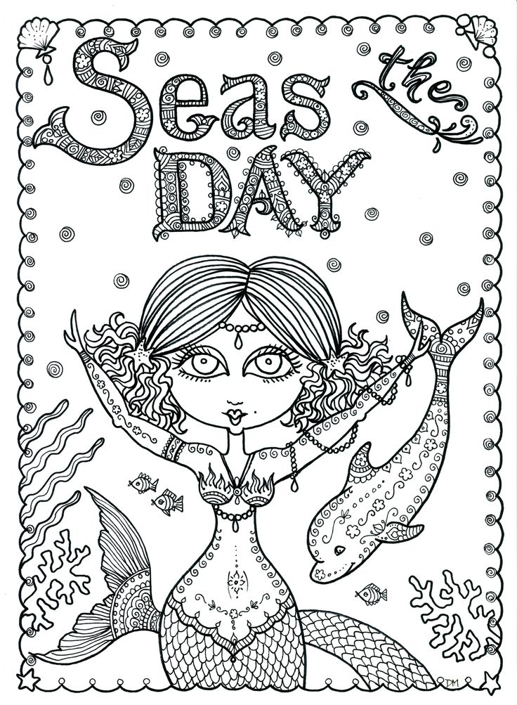 y8 coloring mermaid pages - photo#50