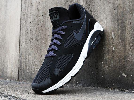 Nike Air Max Terra 180 - Black - Dark Charcoal - Metallic Silver