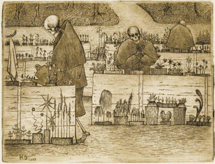 Hugo Simberg: Garden of Death, 1897.